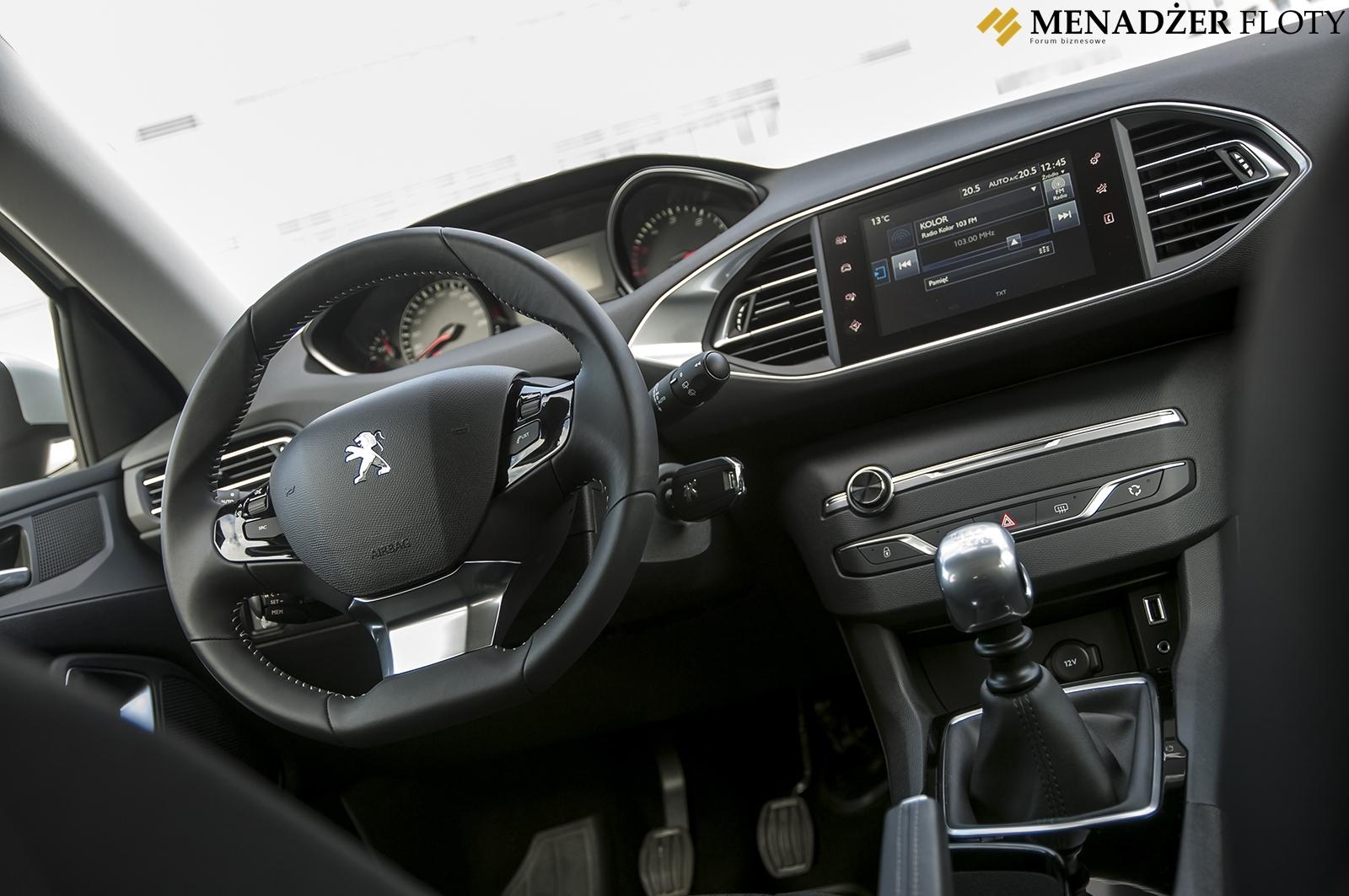 Test Dlugodystansowy Peugeot 308 Sw Pierwsze Wrazenia Menadzer