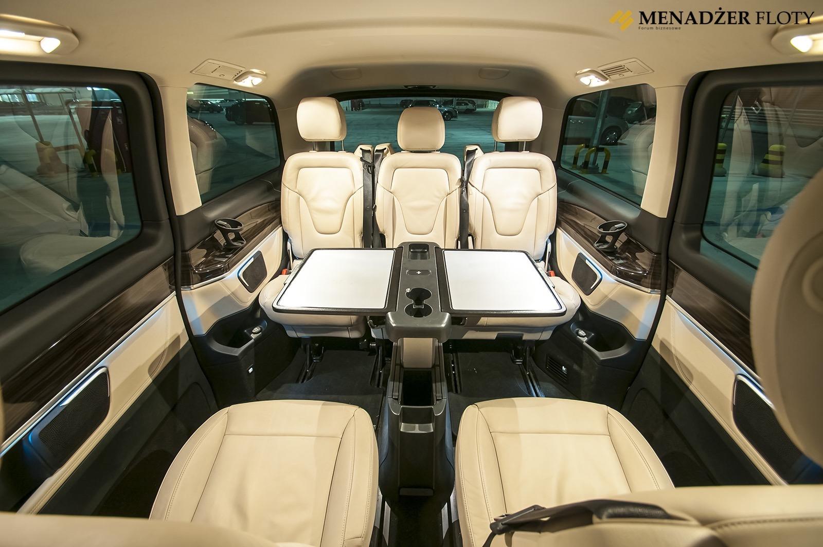 Test Mercedes Klasy V Luksus Do Potęgi V Menadżer Floty
