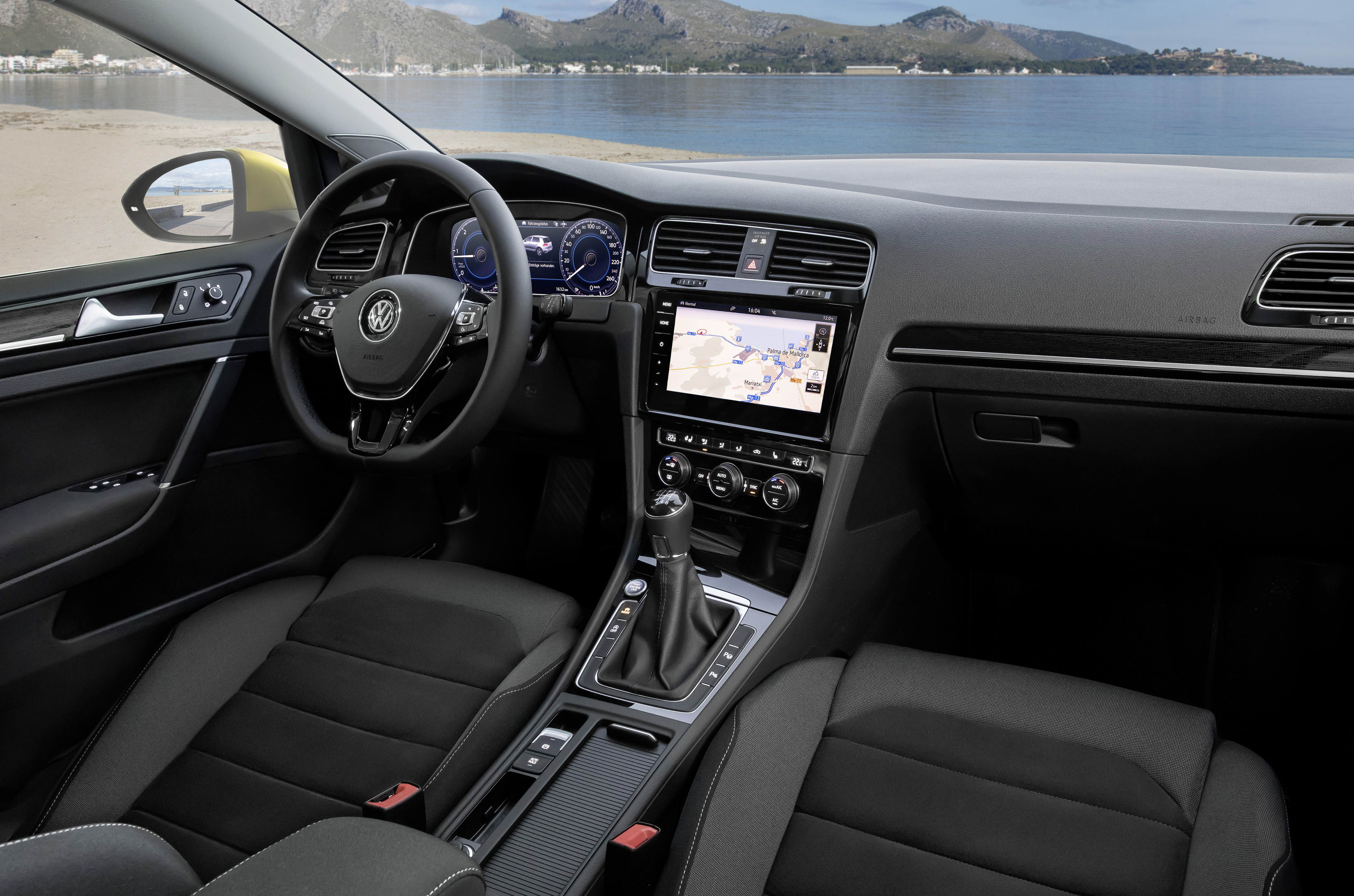 Genewa 2017 Odmłodzony Volkswagen Golf Menadżer Floty